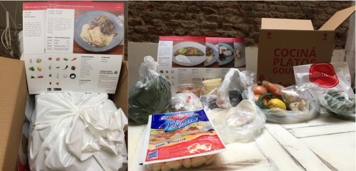 Caja abierta Buen chef